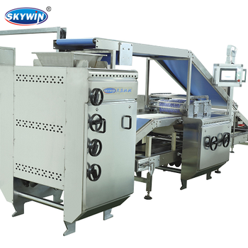 SKYWIN New Design Semi Automatic Hard Biscuit Line Mini Biscuit Making Machine