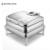 Banquet Equipment Stainless Steel Buffet Set /Insulated Food Warmers Display Round Induction Chafer Dish