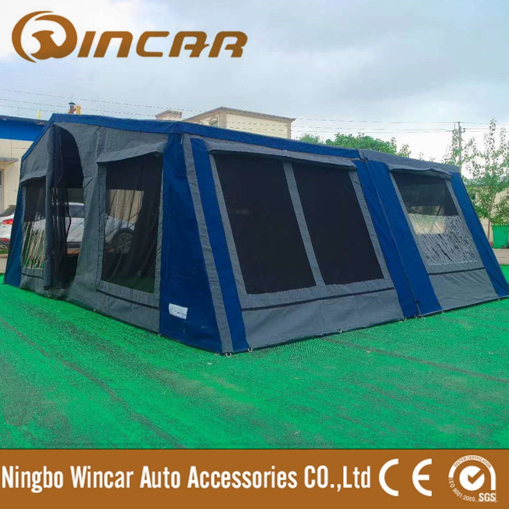 4x4 Family Folding Tent Trailer Tent for Camping