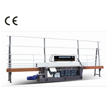 Laminated flat glass grinding machine