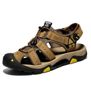 Summer Leather Sandals Men Outdoor Sport Fashion Sandals Shoes