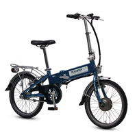 Cheap price new style folding e bike foldable electric bicycle