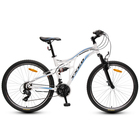 "26"" suspension MTB steel mountain bikes"
