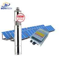DC 4inch 24V solar powered water pump for irrigation