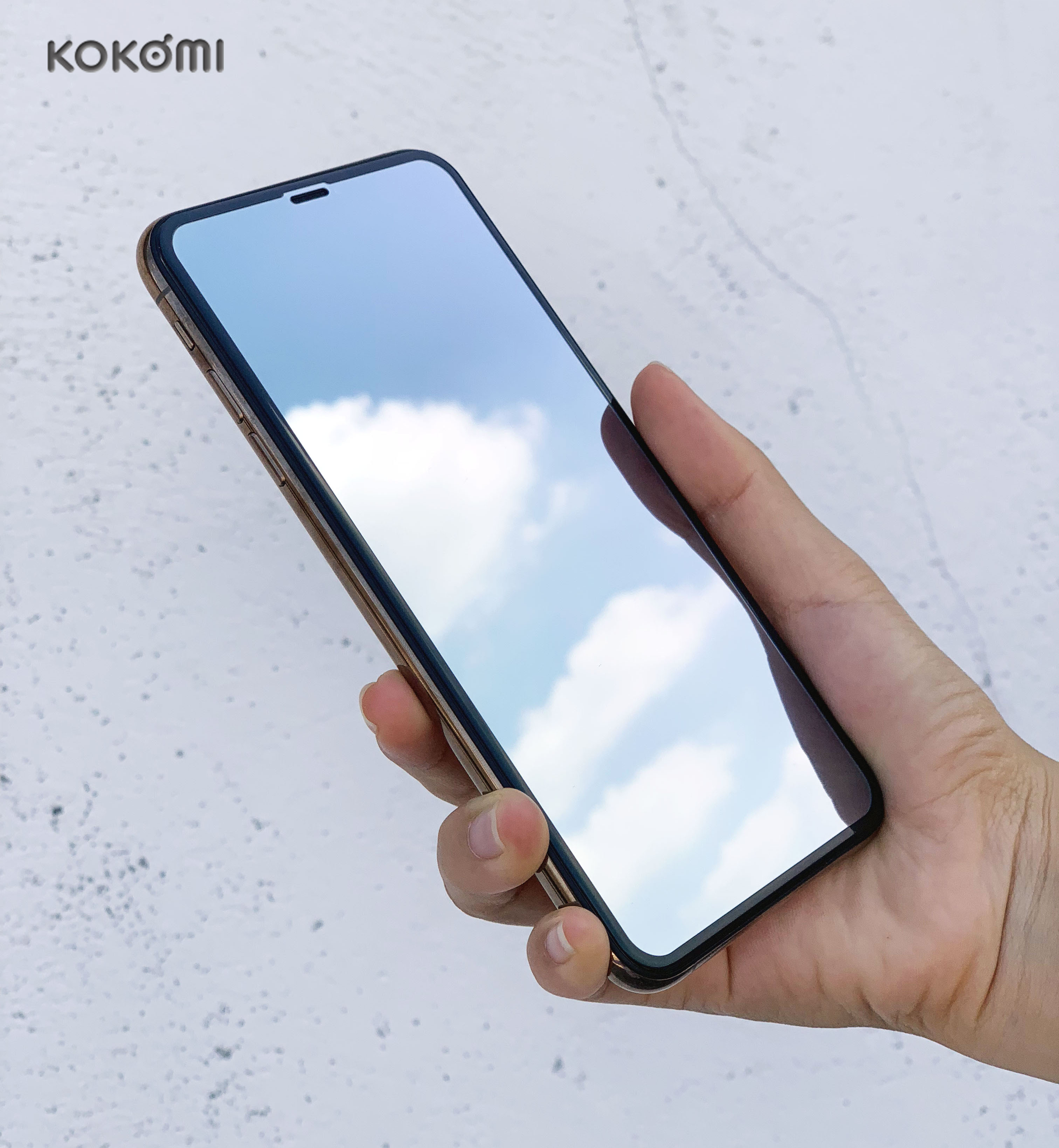 KOKOMI 3D curved mirror tempered glass high quality 3D glass screen protector for iphone фото