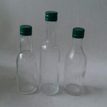 various volume clear transparent  330ml glass beer bottle