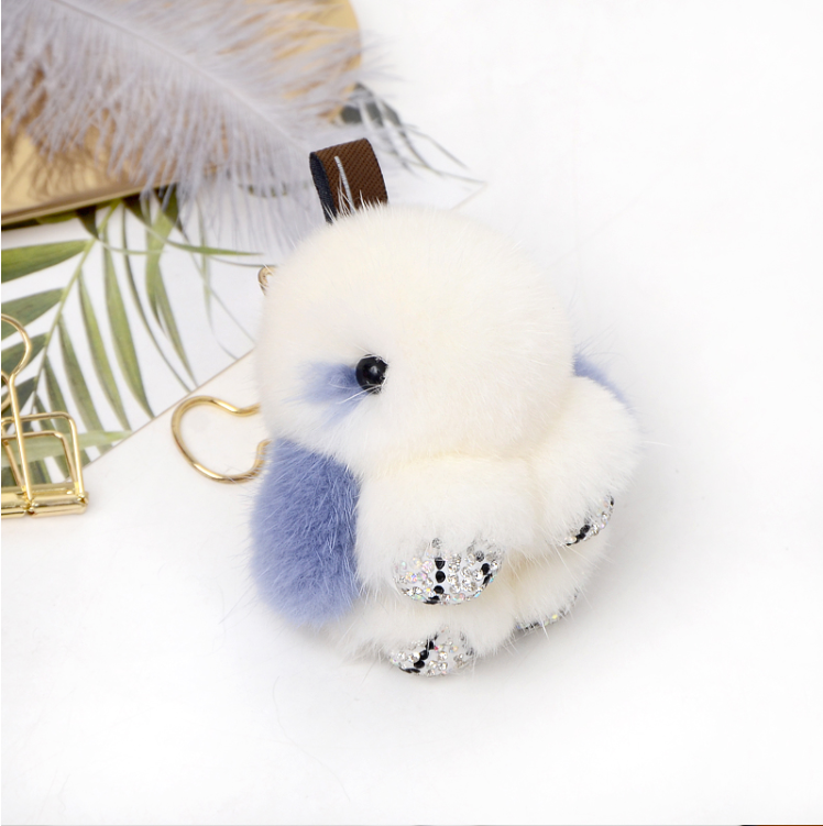 Cute New real <strong>Fox</strong> <strong>Fur</strong> Fluffy Pom <strong>Ball</strong> Bag Car Pendant Charm Key Keyring pompom <strong>keychain</strong> llaveros