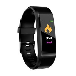 Image of ID115Plus Smart Bracelet Sport Bluetooth Wristband Heart Rate Monitor Watch Activity Fitness Tracker Smart Watch Band