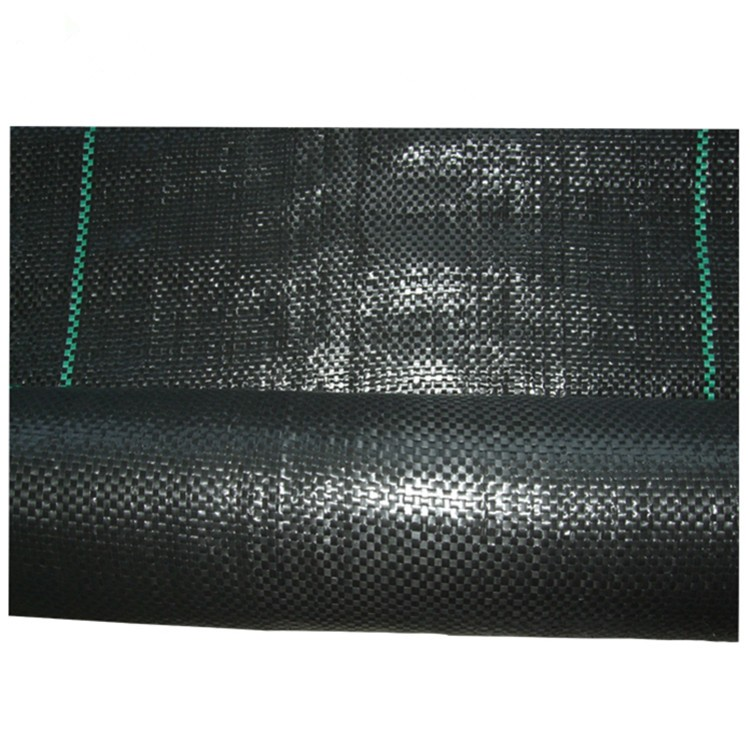 EGP PP PE black weed control mat anti-grass ground cover in roll for garden greenhouse