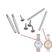 Watch Screw For Stainless Steel Watch Band Watch Spring Bar For Leather Strap