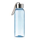 500ml bpa free stainless steel cap plastic water bottle with rope