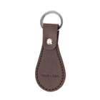 leather car key case keychain embossed PU keychain