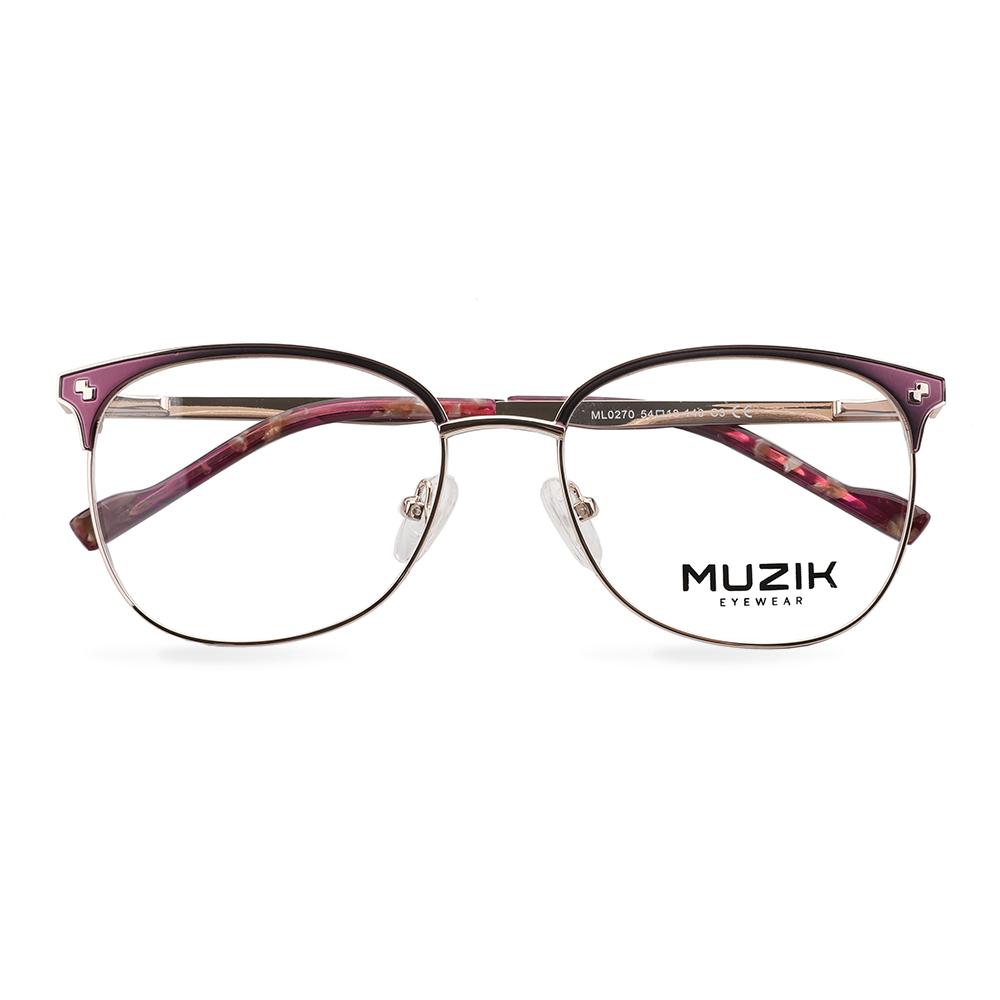 ML0270 Latest design double bridge optical frames