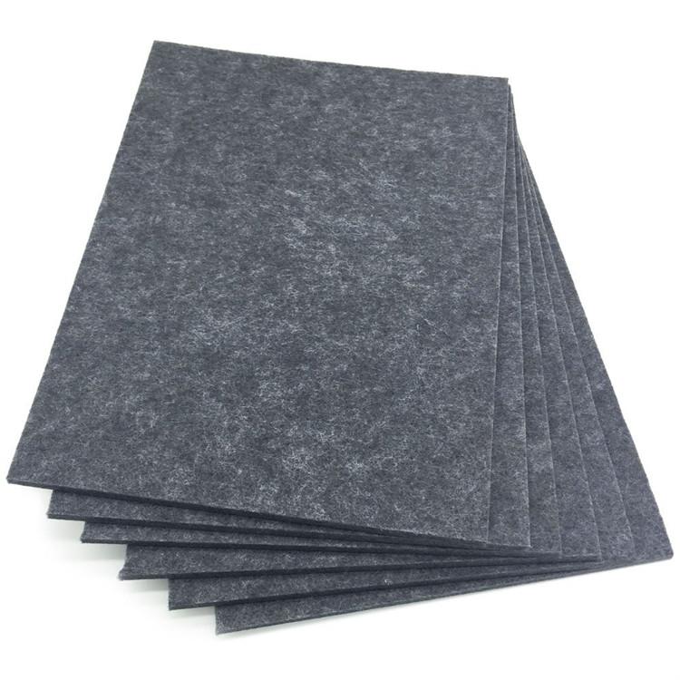 9 Mm Dikte Polyester Fiber Wandmontage Akoestische Absorptie Panelen Geluidsisolatie Isolatie Panel Tegels