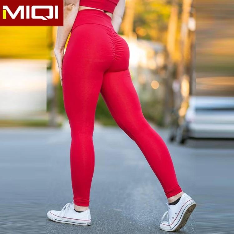 cf621ff5034c1a Custom Gym Apparel High Waist Gym Pants Heart Leggings With Pocket Women  Leggings Fitness