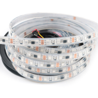 10mm 5050 addressable pixel ws2811 ws2812b 60 12v Led Strip uv