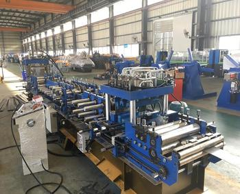 Fast Changed Size C Shape Cold Steel Roll Forming Machine C Shaped Steel Roll Former The Best Quality
