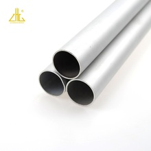 Custom 6061 T6 18mm Thick Wall Aluminum Round Hollow Pipe for Aluminum Pipe Furniture Making