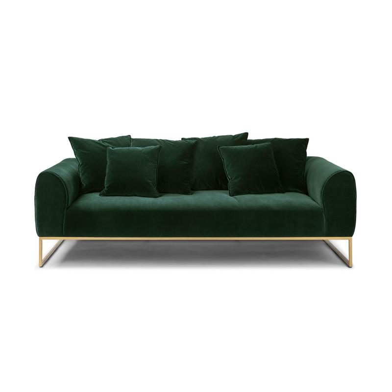 घर कमरे में रहने वाले फर्नीचर आधुनिक असबाबवाला कपड़े सोफे सोफे