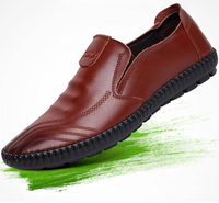 The new british style fashion pu men comfortable man casual shoes