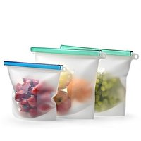 Home Preservation BPA Free reusable Container Versatile Cooking silicone food storage bags