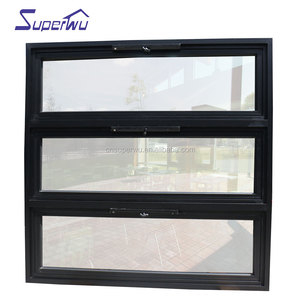 Factory direct chain wider awning window grill soundproof with crank Prices