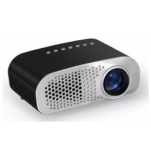 Hot Cheapest 120 Lumens Mini LED Portable Projector GP07S, HDML ,USB,SD,ATV Optional 480x320 Pixel
