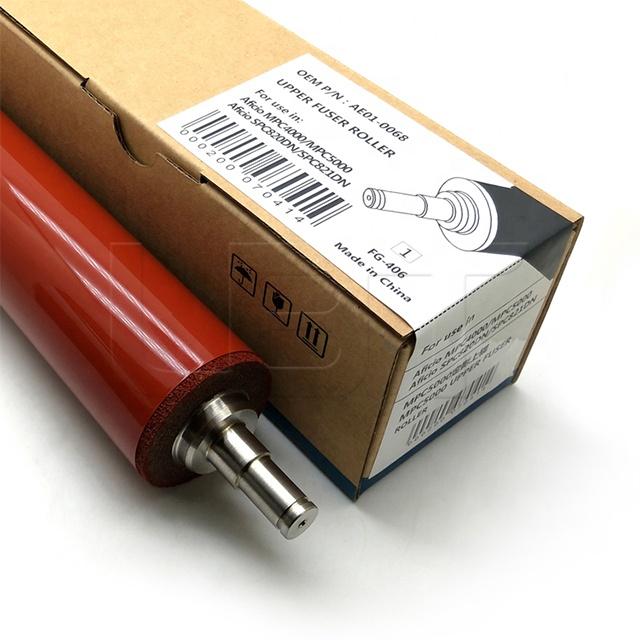 AE010068 Upper Fuser Roller For Ricoh Aficio MP C4000 C5000 Fuser Heat Roller AE01-0068