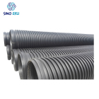 900mm hdpe double wall corrugated pipe 800mm 8 inch drain