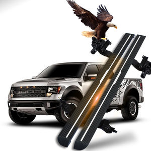 Waterproof Pick Up 4x4 Automatic Powerstep Power Side Step Electric Running Boards For Ford F150 Raptor