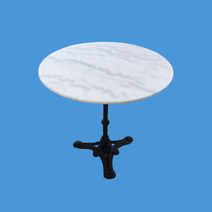 Promotion living room furniture luxury round marble table tops centre coffee table round marble coffee table top