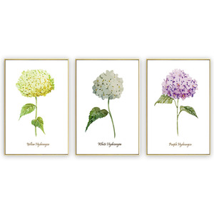 New product wall hanging miniature modern flower designs fabric painting