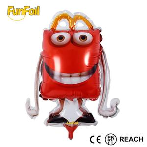 Funfoil OEM customized advertising apple shape tooth shape sheep shape helium foil balloons