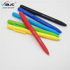velvety touch logo customized pens return gifts for kids birthday party,promotional hotel gifts soft personalized pen