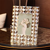 High quality crystal photo frame wedding souvenir 4x6 5x7 crystal photo picture frame