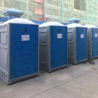 HDPE Portable Construction Site Toilet for sell,China type removable toilet