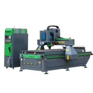 Chinese cheaper automatic changer automatic used axyz cnc router BCM1325C