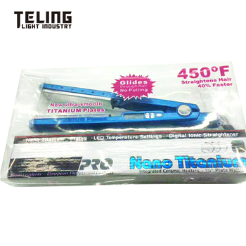 Hair Straightener with Plate Titanium
