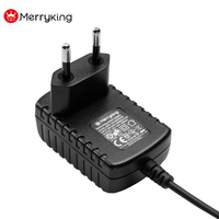 CE EU Plug Universal 100-240V Input AC to DC 5V 12V 15V 18V 150mA 500mA 1A Power Adapter