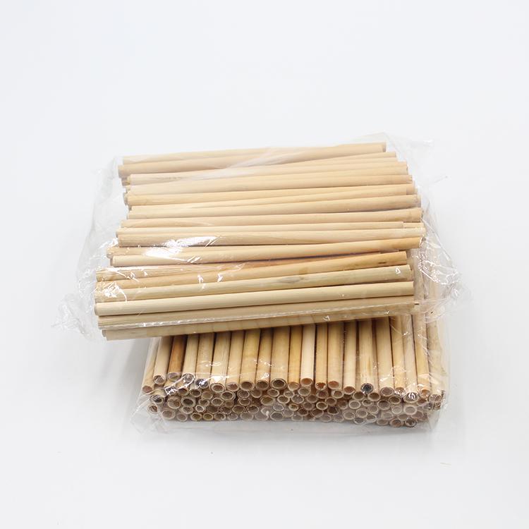 โลโก้ที่กำหนดเองยอมรับได้ Disposable เป็นมิตรกับสิ่งแวดล้อมไม้ไผ่ธรรมชาติฟางข้าว