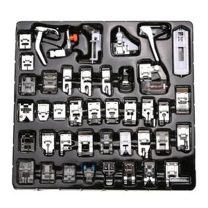 42pcs Sewing Foot Kit Sewing Machine Presser Feet Set for Brother Babylock Singer Janome Elna Toyota New Home Simplicity Necchi