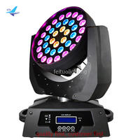 LED Zoom 36x10w Moving Head Wash RGBW Stage DJ Lighting Mobile Head Zoom Light