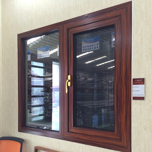 Aluminium windows and doors 4 sashes sliding door with touch lock