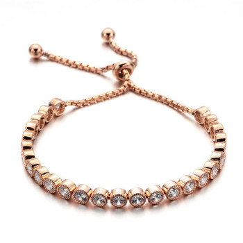BGR-010 BAGREER 14 g Rose Gold women fashion bracelet silver+accessories women jewelry bracelet