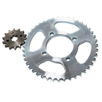 Chinese Factory Prices Motorcycle Parts YBR125 Sprocket Set For Yamaha