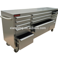 Storage Workbench Tool Chest Box with Wheels and Drawers / Rolling Cart with Easy Movement China Factory Price