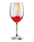 Glassware Color Cup Custom Crystal Glassware Manufacturer Color Diamond Red Wine Glass Cup For Bordeaux At Wedding