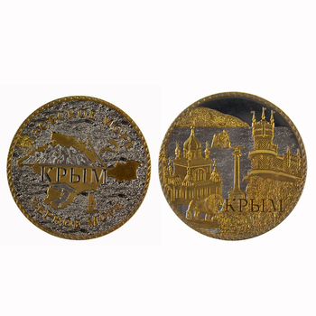 New product exclusive design metal gold brass 3d souvenir antique old coin for collectible