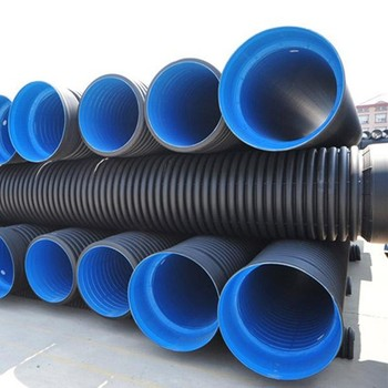 Industrial pp customized diameter plastic pe drainage hdpe swear pipe