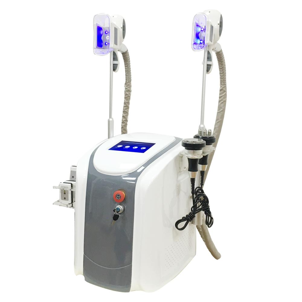 Vacuum cavitation body slimming device for salon use with 4 handle фото